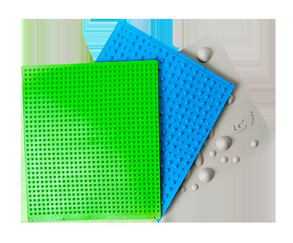 Le tre tavole Yowalk, dispositivo medico per la Riattivazione Plantare Progressiva