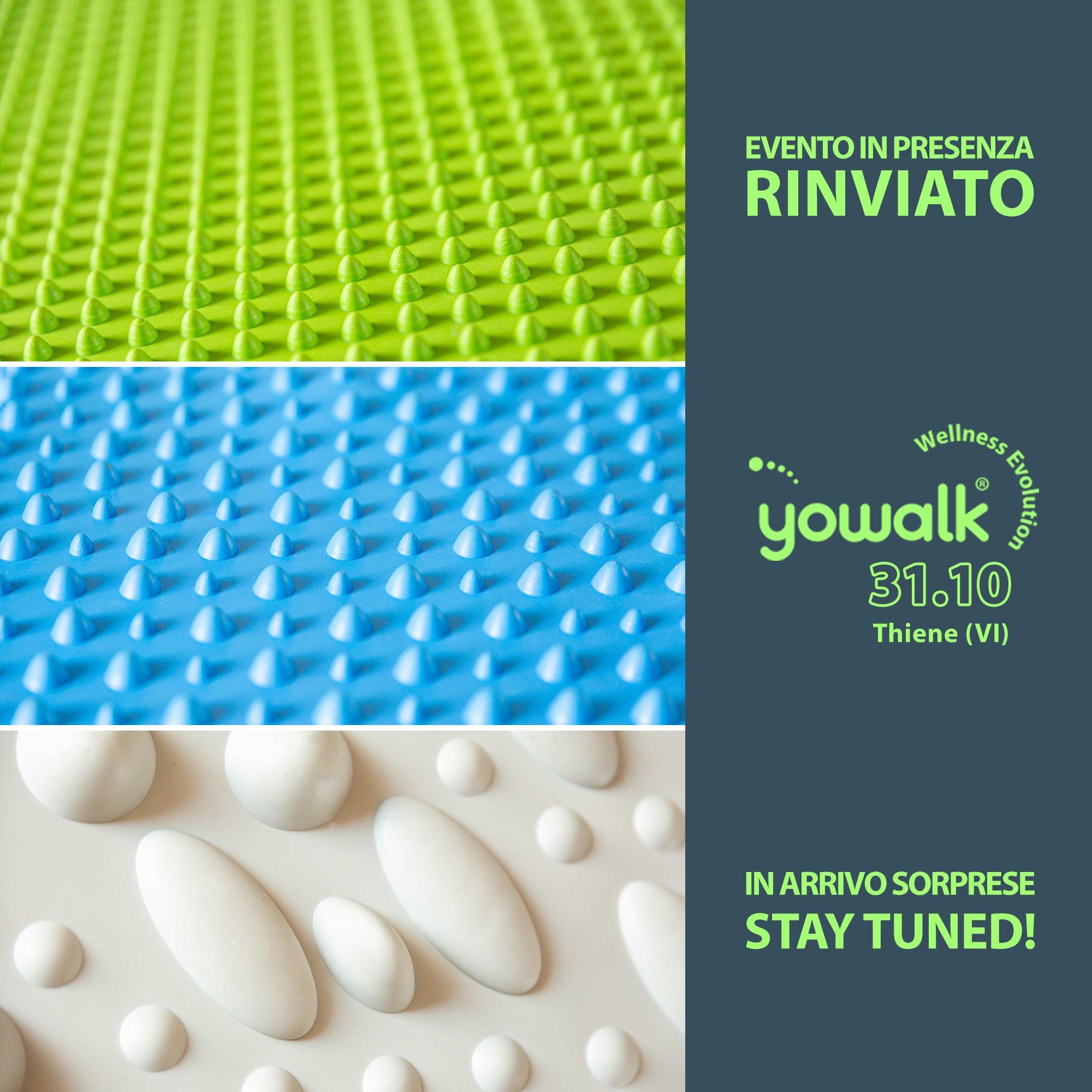 Giulia Bertomoro con Yowalk, la prima tavola 100% made in Italy per la Riattivazione Plantare Progressiva